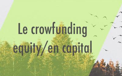 Crowdfunding equity : devenir actionnaire en dehors de la Bourse