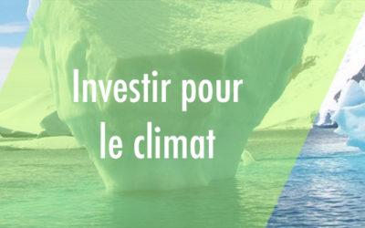 Finance durable : comment investir pour le climat