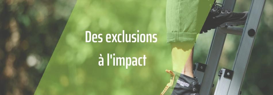 Exclusions, ESG, ISR, impact : choisir une stratégie d'investissement responsable